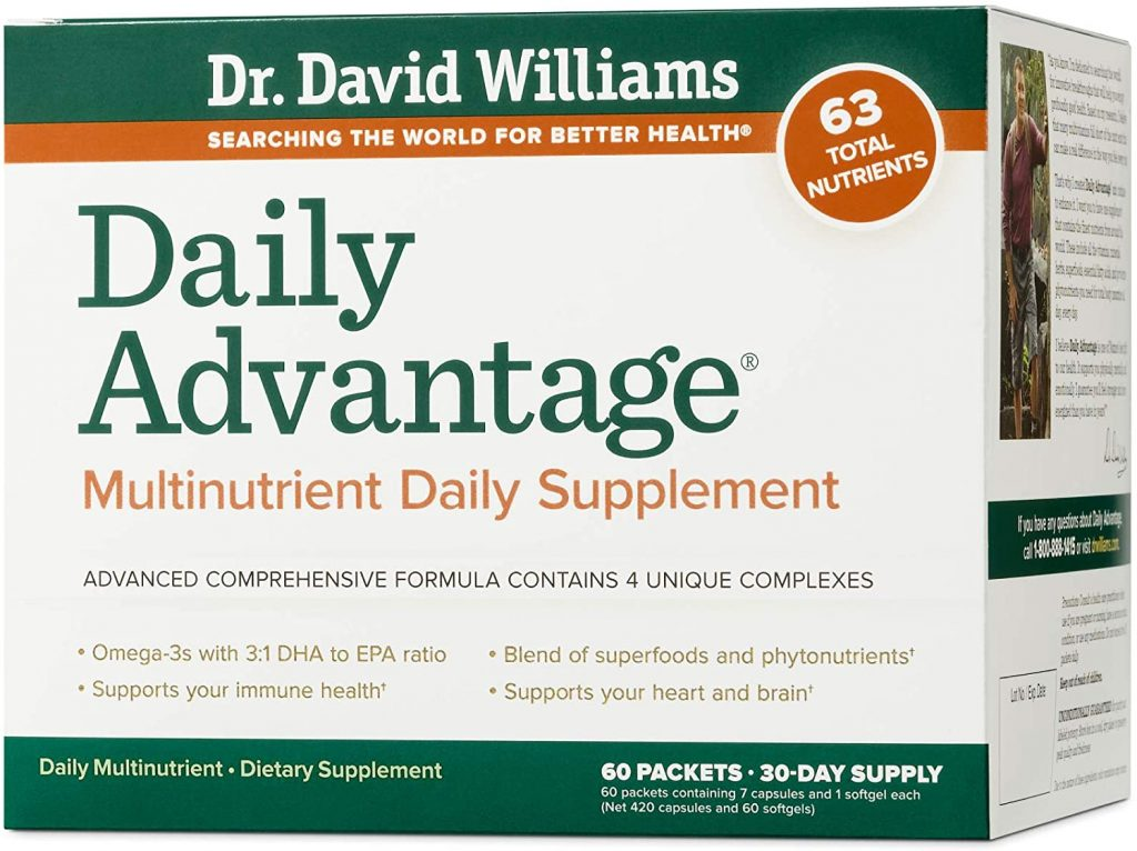 Daily Advantage by Dr. David Williams