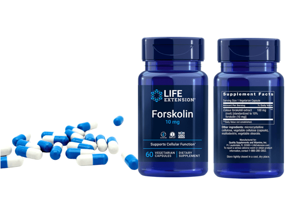 Forskilin by Life Extension Bottles