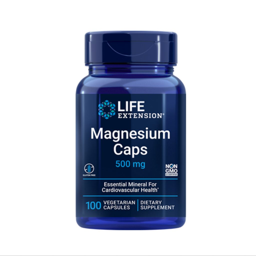Magnesium Caps By Life Extension