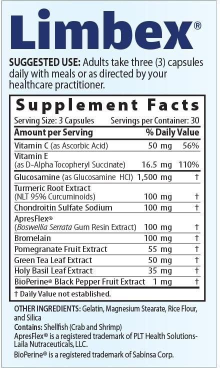 Medix Select Limbex Supplement Fcats
