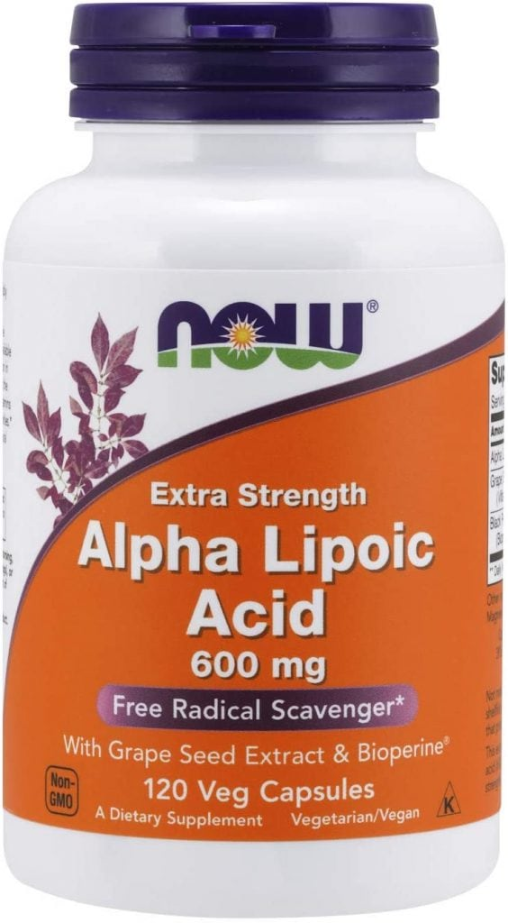 NOW Alpha-Lipoic Acid (Extra Strength)