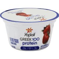 Yoplait yogurt Greek 100