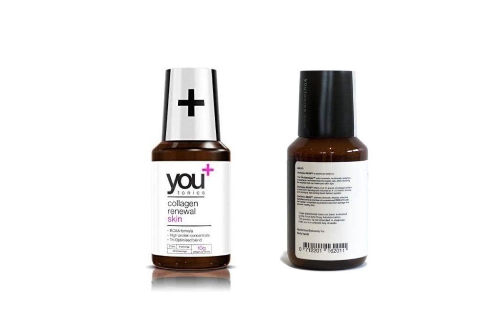 YouTonics Skin Collagen Renewal bottle