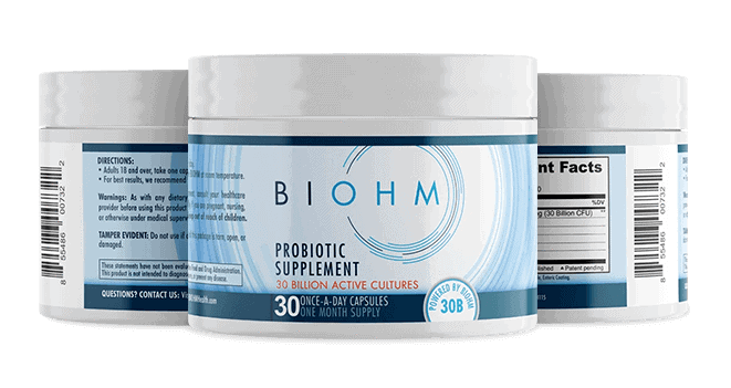Biohm Probiotic 3 Pack