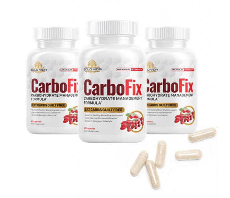 CarboFix Bottles And Pills