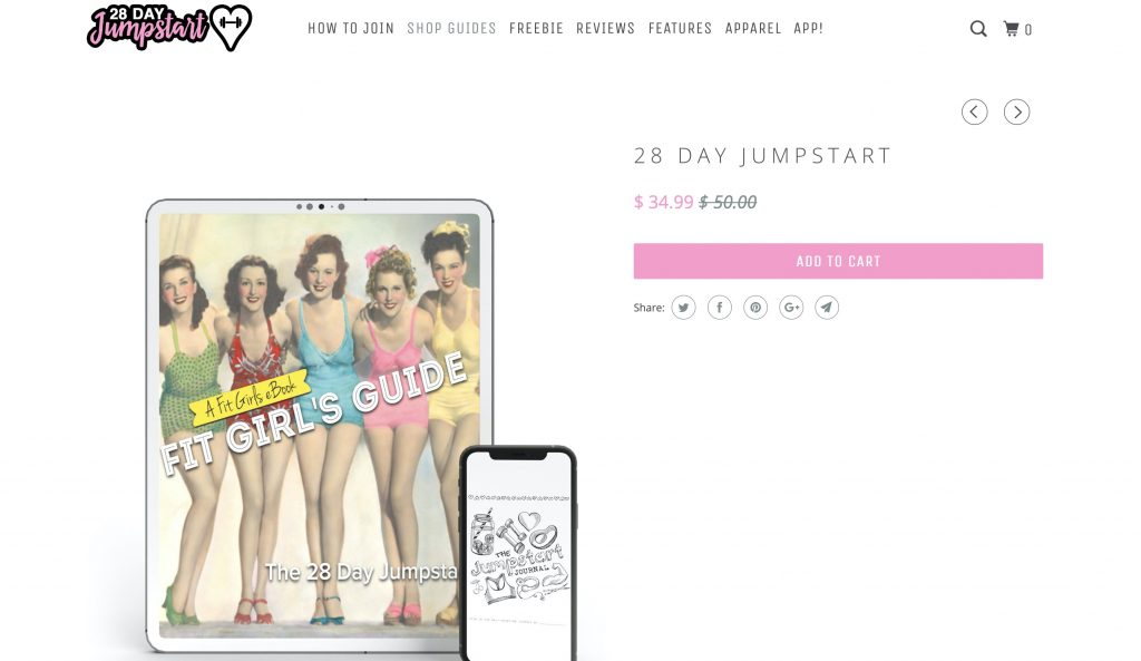 Fit Girl's Guide – 28-Day Jumpstart