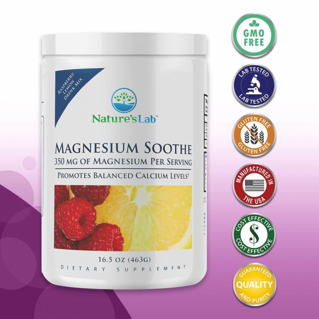 Nature's Lab Magnesium Soothe Supplement