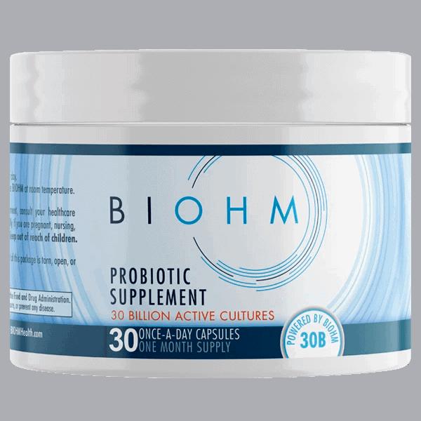 Biohm Probiotic Supplement
