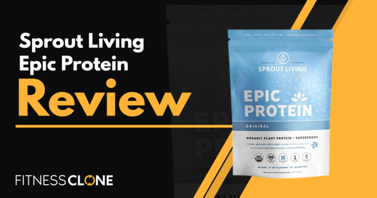Sprout Living Epic Protein Review – Can Plant-Based Protein Really Build Muscle?