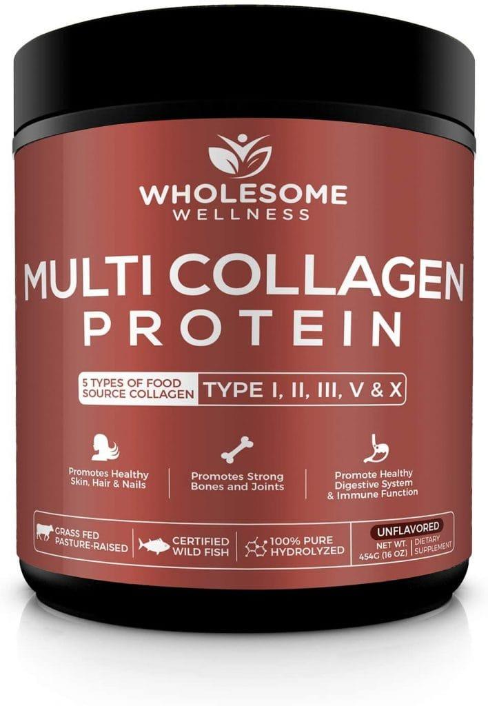 Wholesome Wellness Multi Collagen Protein