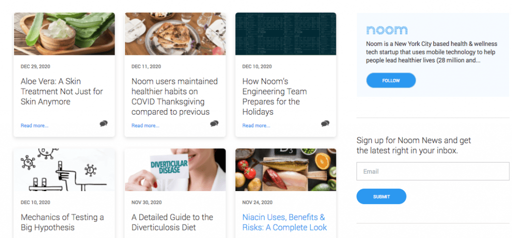 noom Articles And Information