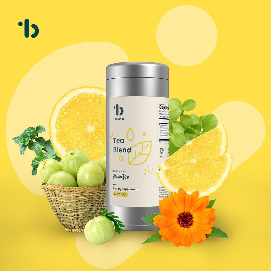 1balance Personalized Supplement Tea