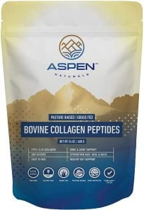 Aspen Naturals Bovine Collagen Gelatin Peptides Powder