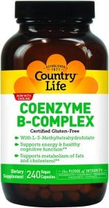 Country Life Coenzyme B-Complex