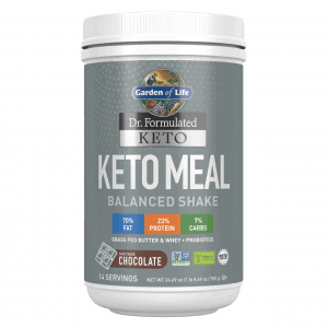 Dr. Formulated Keto Meal Balanced Shake – Chocolate