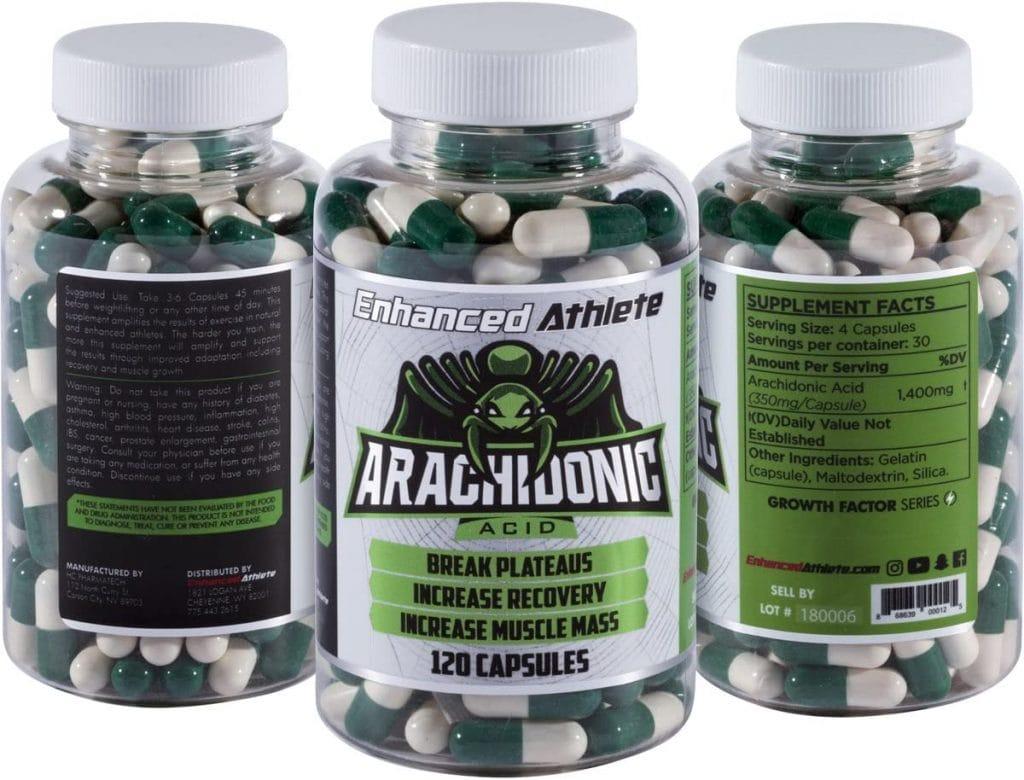 Enhanced Athlete Arachidonic Acid