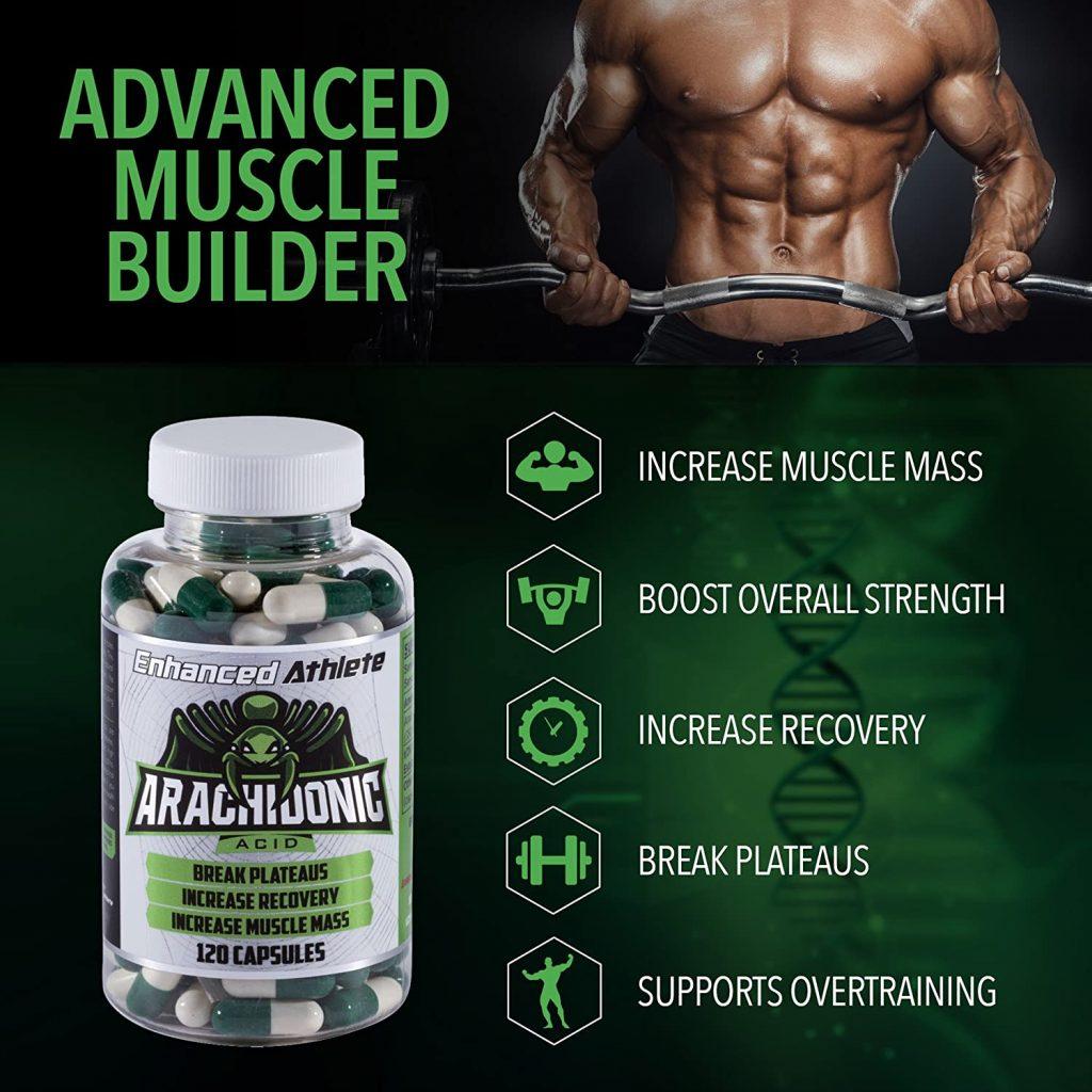 Enhanced Athlete Arachidonic Acid Features