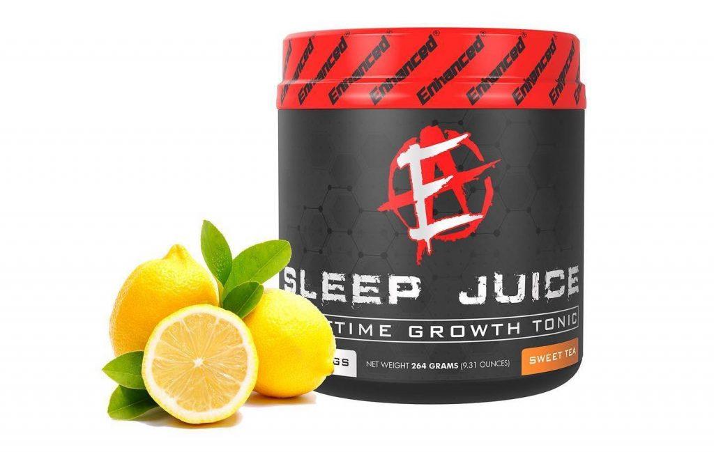 Enhanced Athlete Sleep Juice Lemon