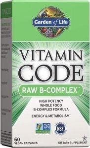 Garden of Life Vitamin Code Vitamin B Complex