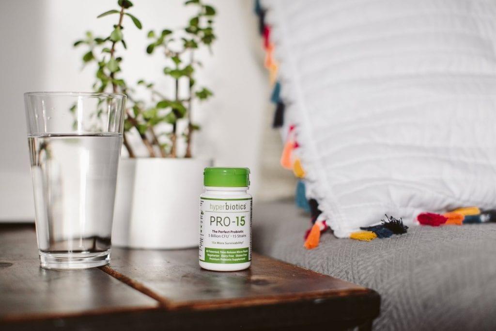 Hyperbiotics Pro-15 Before Bed
