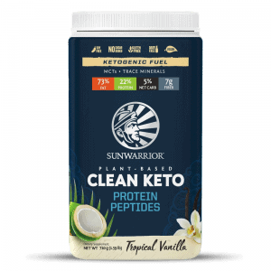 Plant-Based Clean Keto Protein Peptides - Tropical Vanilla