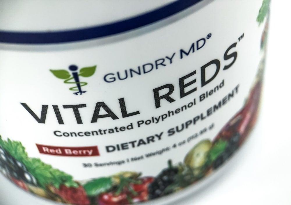 Vital Reds Bottle