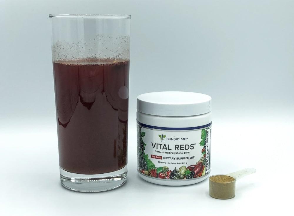 Vital Reds Drink