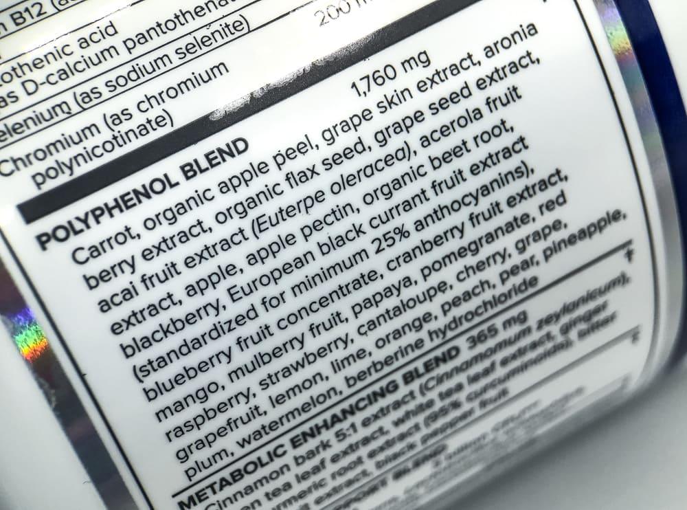Vital Reds Polyphenol Blend
