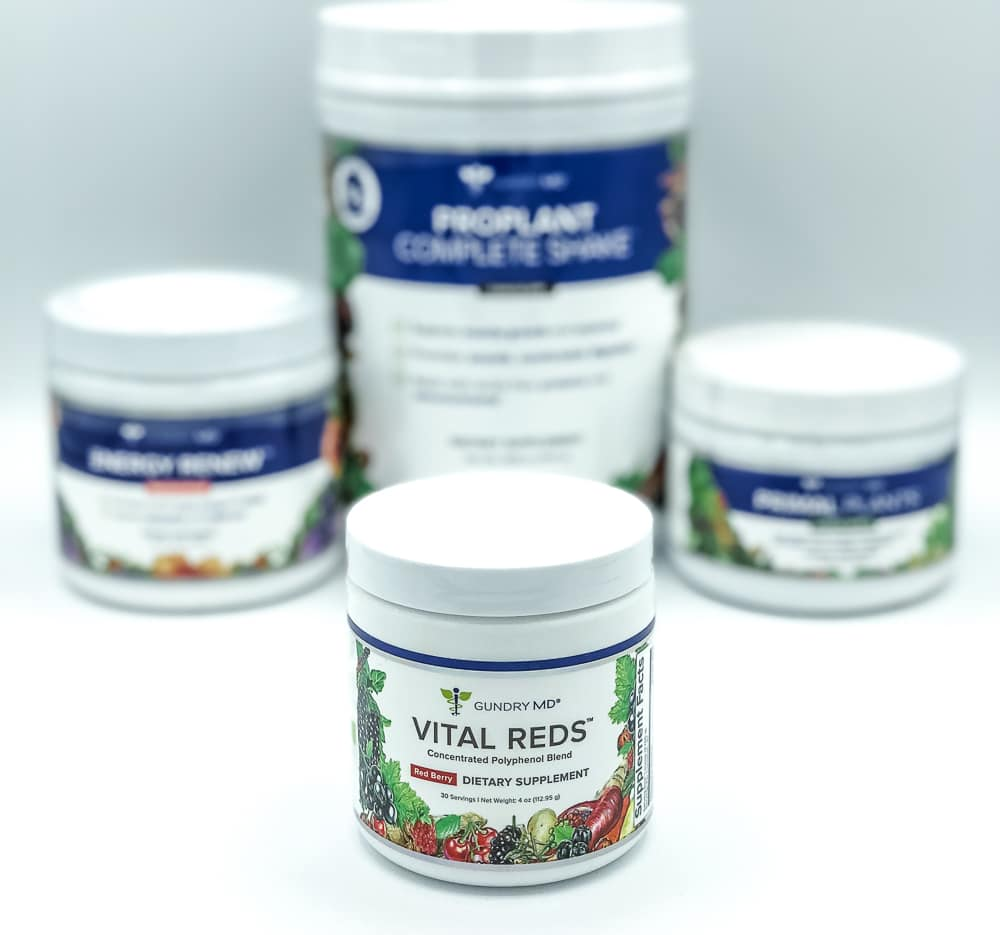 Vital Reds and Gundry MD Supplements