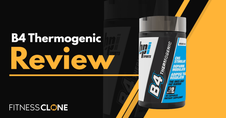 B4 Thermogenic Review – Can This Fat Burner Get Rid Of Unwanted Pounds?