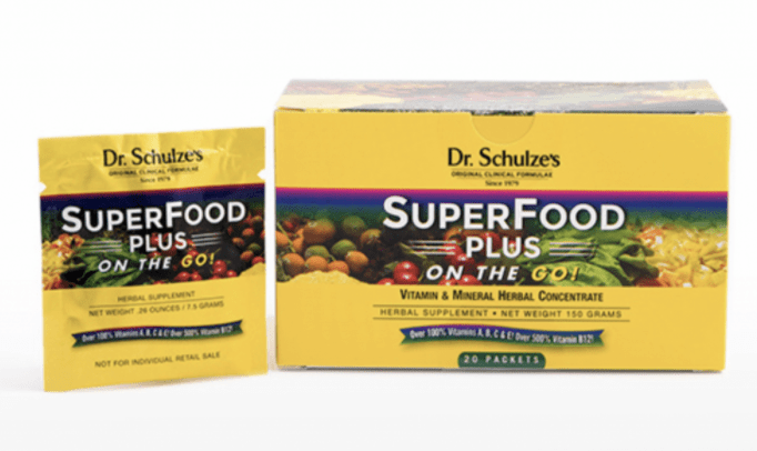 Dr. Schulze's SuperFood Plus Packets