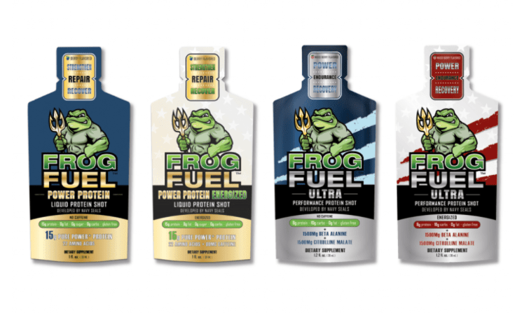 Frog Fuel Mixed - Sample 4-Pack