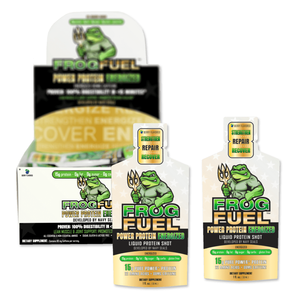 Frog Fuel Power Protein Energized