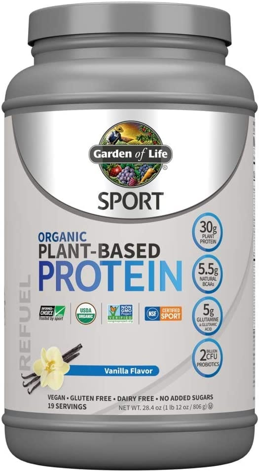 Garden of Life Organic Sport Plant-Based Protein Powder