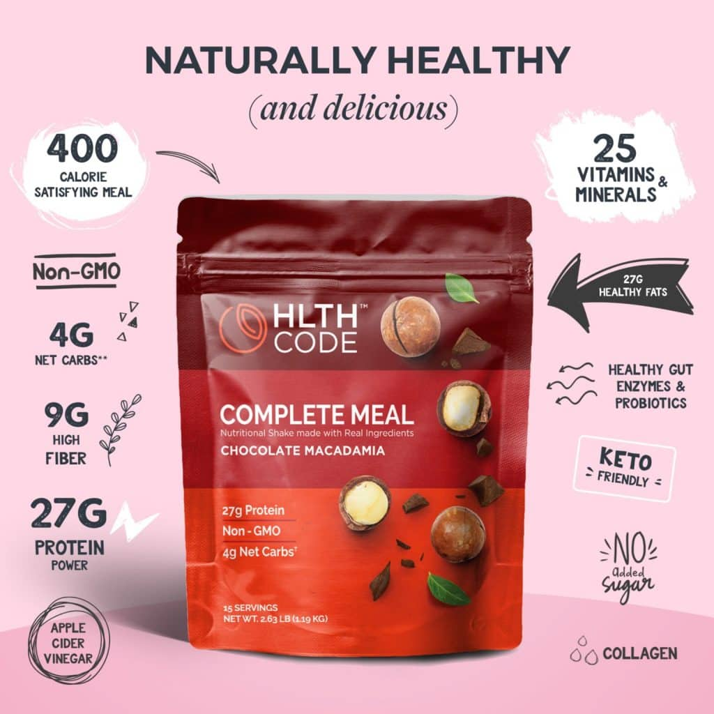 HLTH Code Complete Meal Macadamia