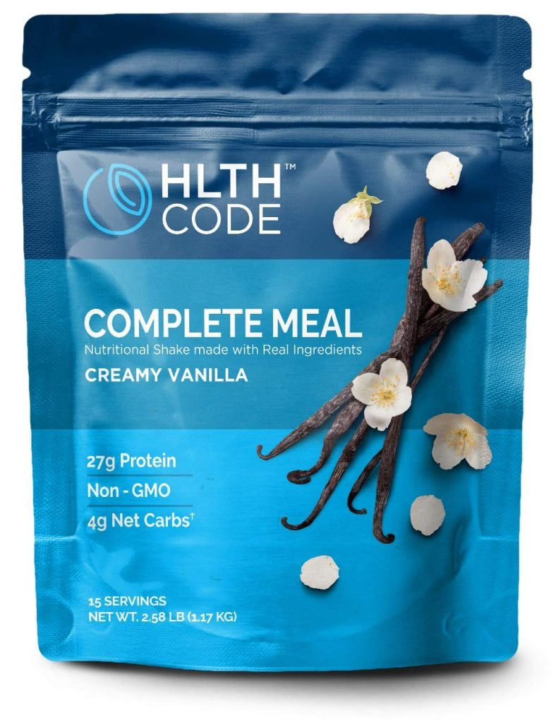 HLTH Code Complete Meal Vanilla