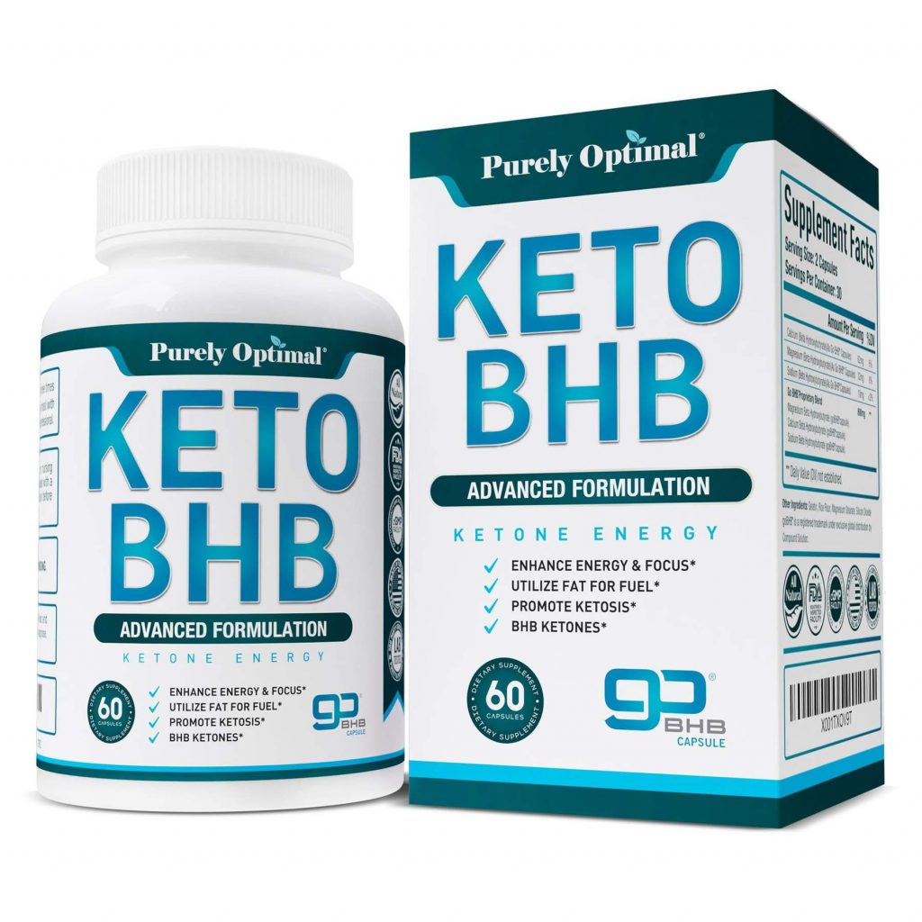 Purely Optimal Keto BHB Supplement