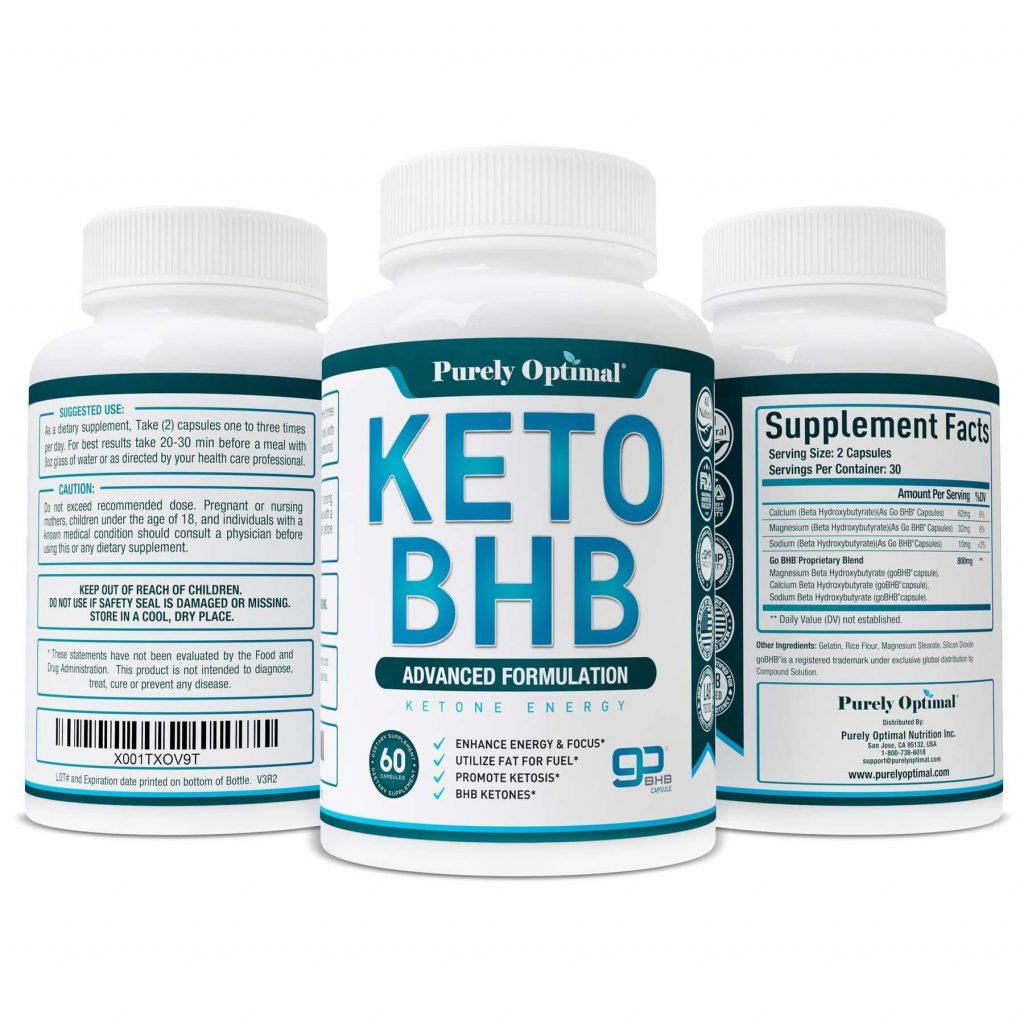 Purely Optimal Keto BHB 3 Pack