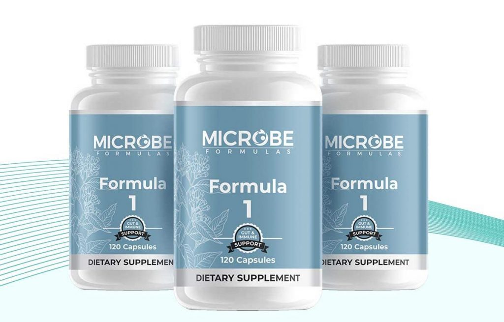 Microbe Formulas Formula 1 Three Pack
