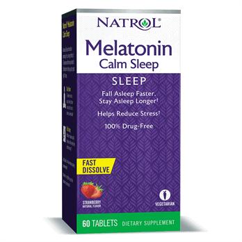 Natrol, Melatonin Calm Sleep