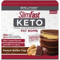 SlimFast Keto peanut butter cups