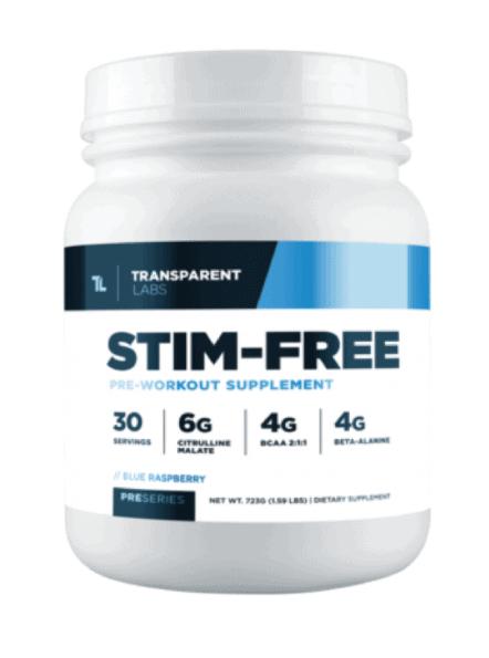 Transparent Labs Fat Burner Stim-Free
