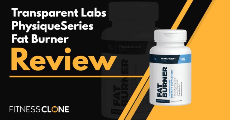 Transparent Labs PhysiqueSeries Fat Burner Review
