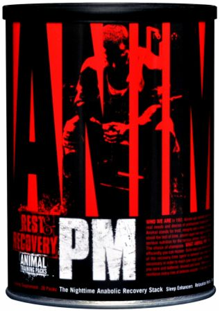 Universal Nutrition, Animal PM Nighttime Anabolic Recovery Packs