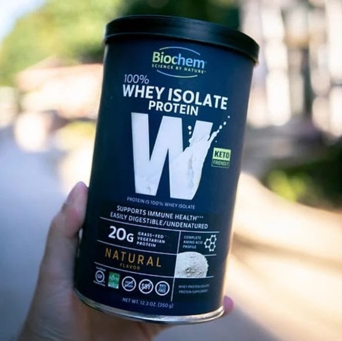 Biochem Whey Isolate Protein Natural