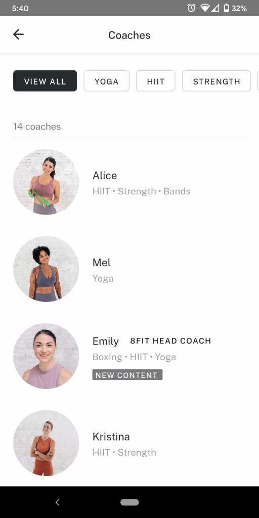 8fit Coaches
