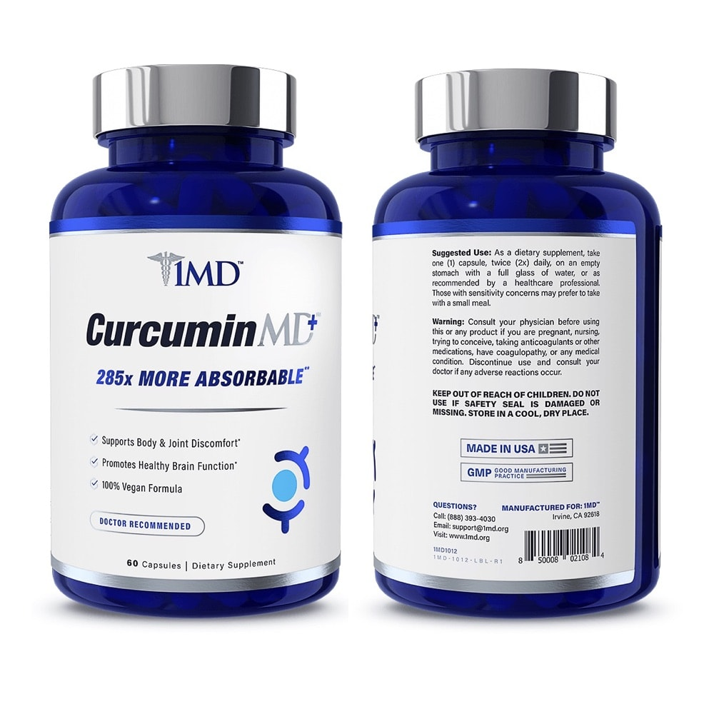 CurcuminMD Front and Back