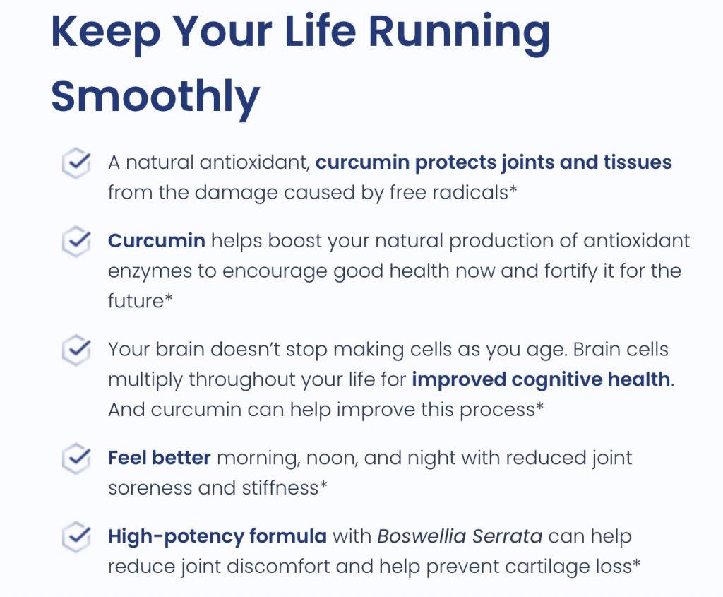 CurcuminMD Plus Benefits