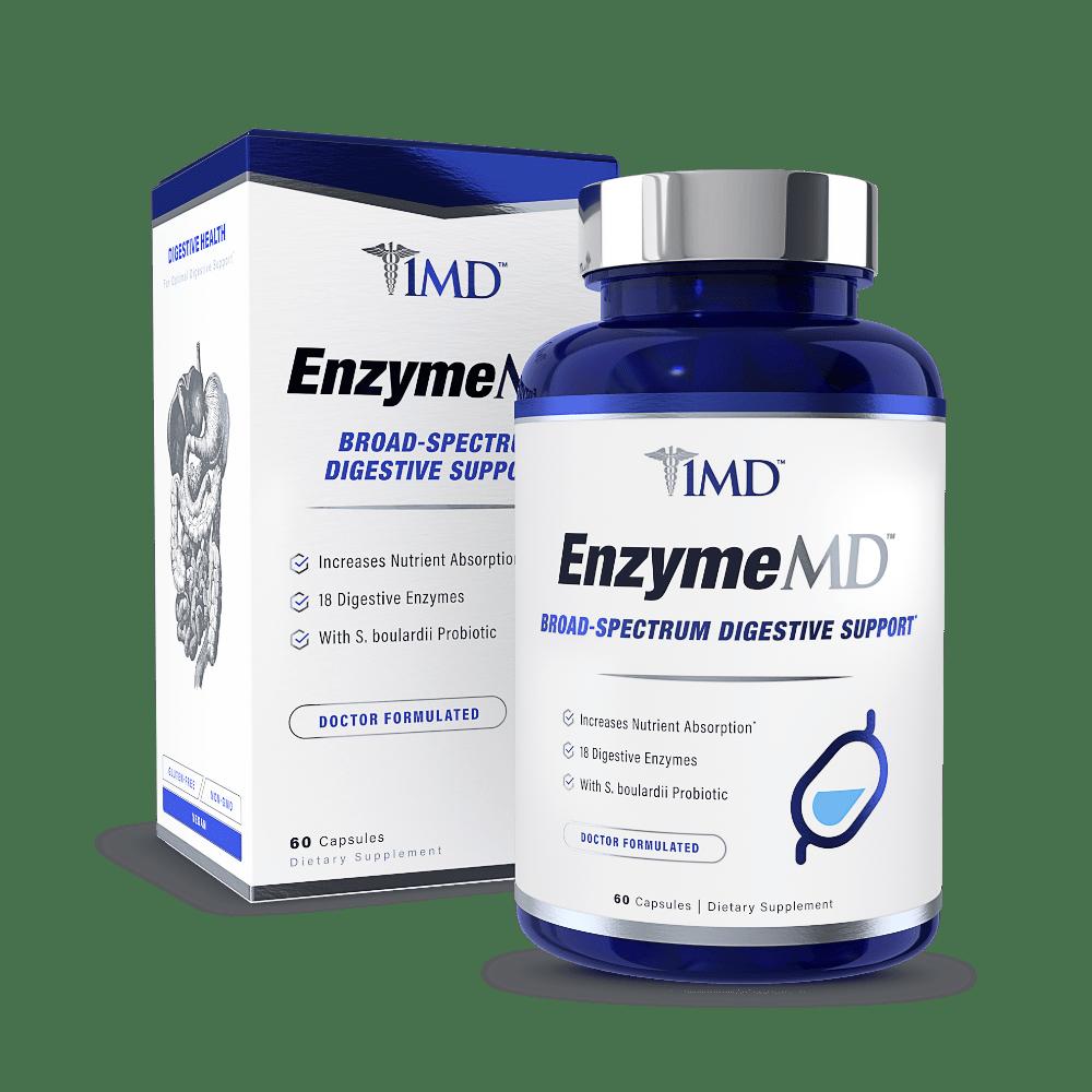 EnyzmeMD Supplement Packaging