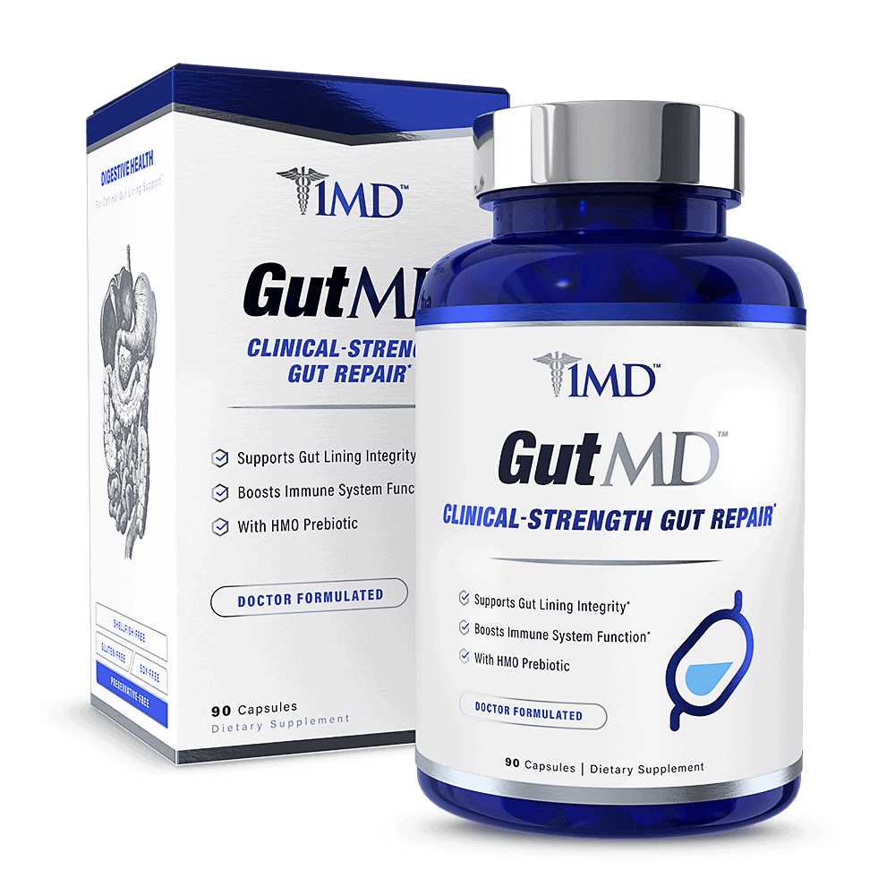 GutMD Supplement Packaging